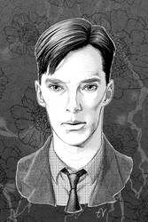 Alan Turing | The Imitation Game | 3919a by SimplEagle