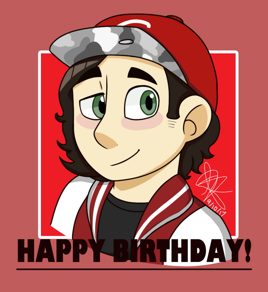 Happy *late* Birthday Alex! by Infinity-Drawings