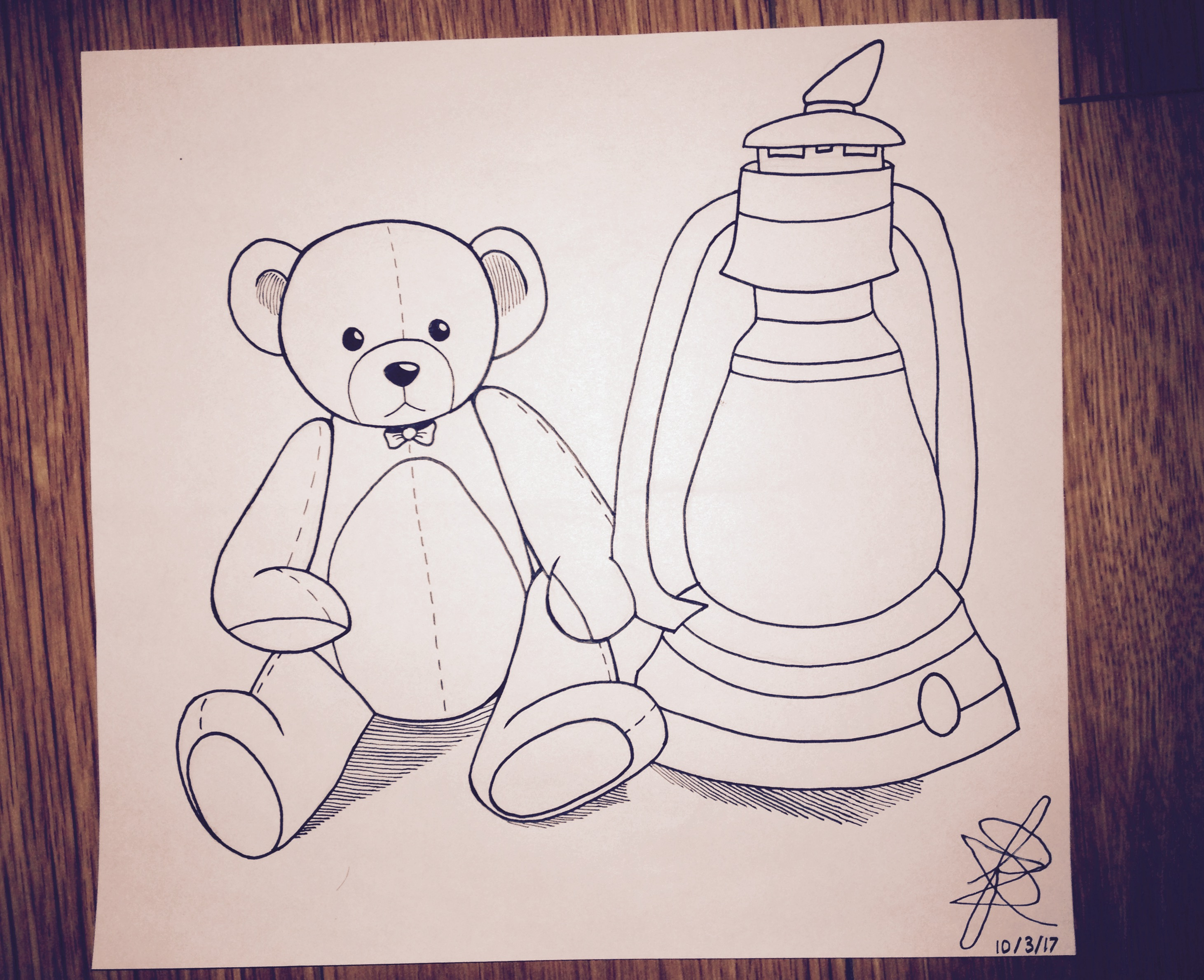 Inktober - Day 3 by Infinity-Drawings