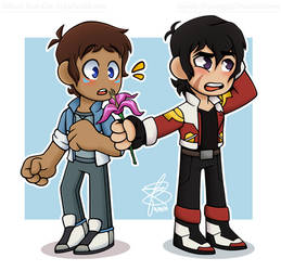 Chibi Klance (redraw) by Infinity-Drawings