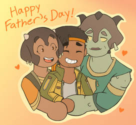 (VLD) Happy Father's Day by Infinity-Drawings