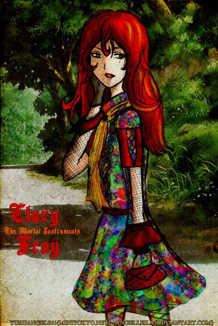 TMI: Clary Fray by AngelLeila