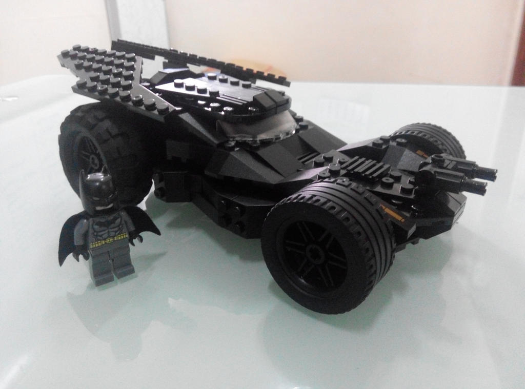 moc lego brick batmobile batman v superman by azrael1983. Black Bedroom Furniture Sets. Home Design Ideas