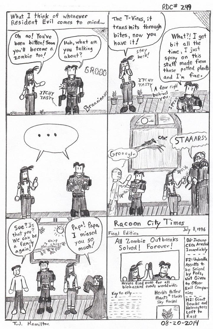 Rdc249 Resident Evil Part 1 by RainyDayMan