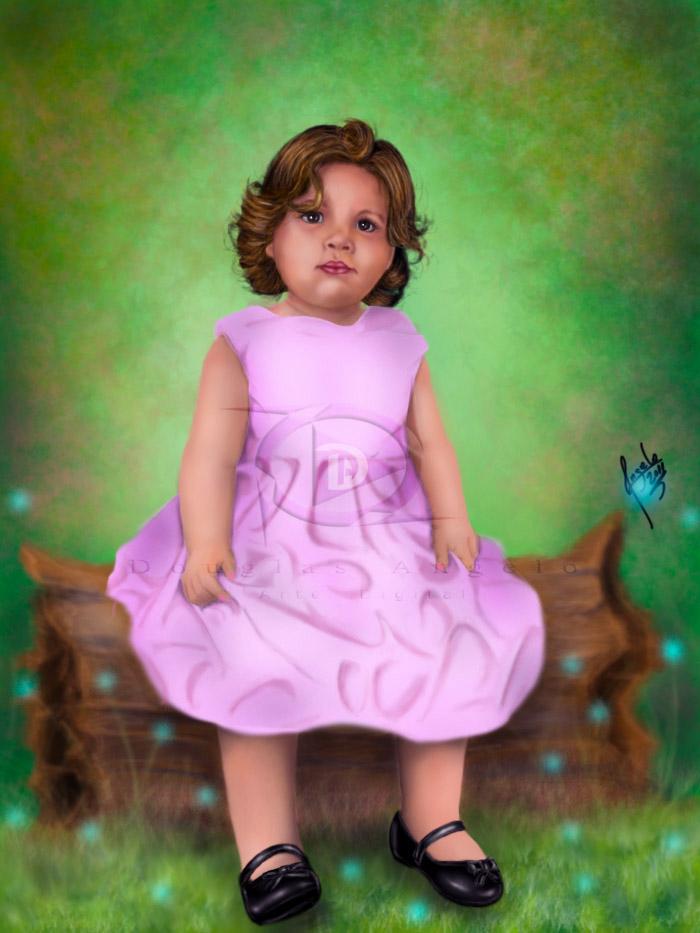 Little Nicole by Salvaratty