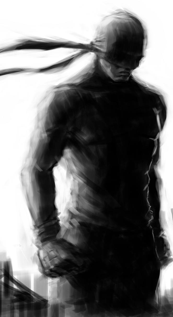 Daredevil Detail1 by Salvaratty
