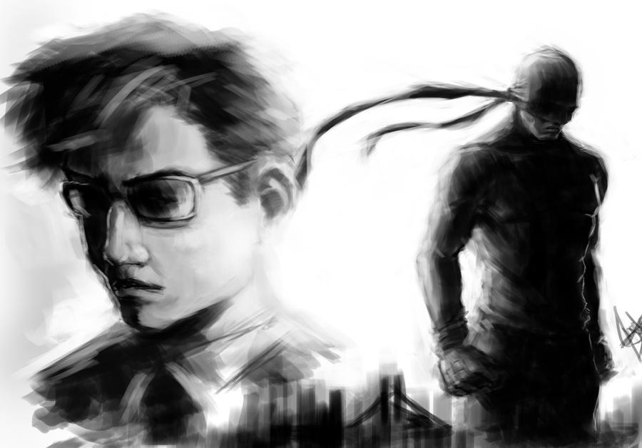 Daredevil by Salvaratty