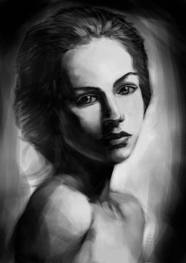 Sketch Study by Salvaratty