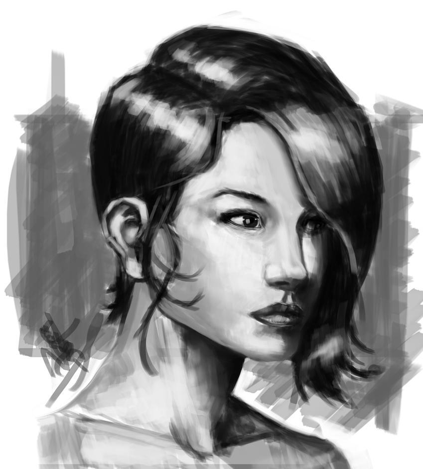 Quick sketch by Salvaratty