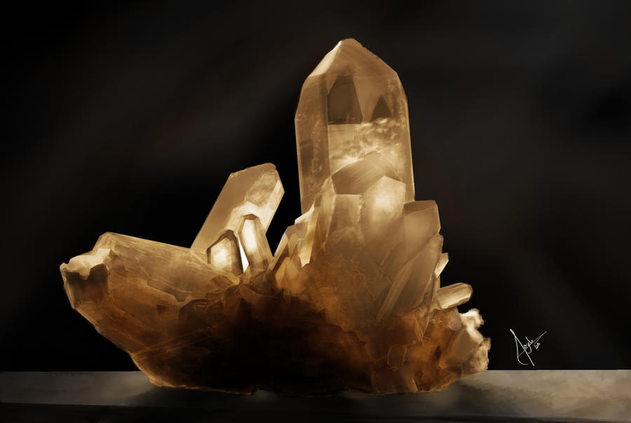 Materials Study - Cristal by Salvaratty