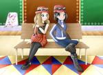 Pokemon X/Y - Protagonists