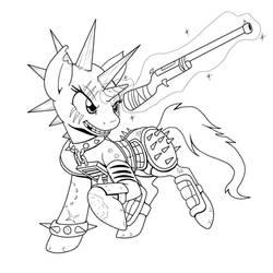 I Love Raider Ponies by Demon-Keychain