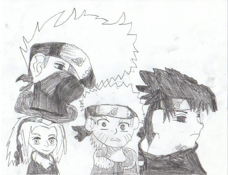 four man team by evillizard91