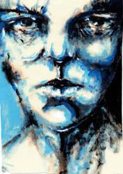 Blue Face by density-tmr