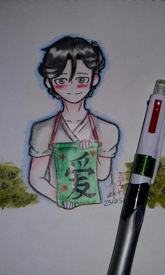Soujiro Senpai (ReDraw) [Fan Art] by BubbleSweet