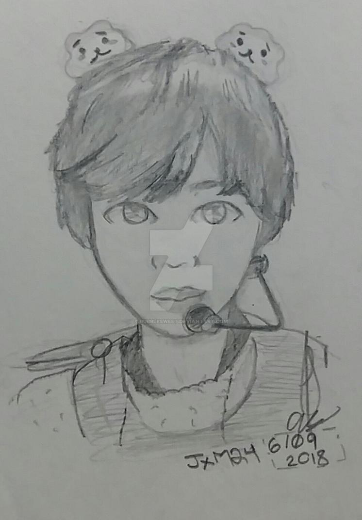 SeokJin [FanArt] by BubbleSweet