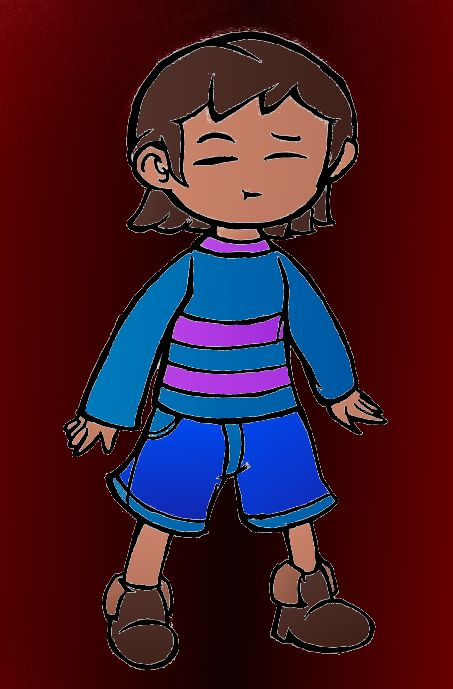 A Slightly More Accurate Frisk by ThatLuigiBrony