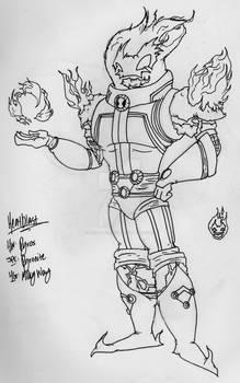 Heatblast (My style)