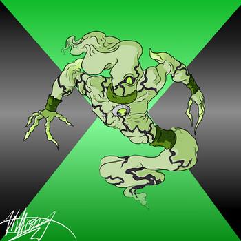 Ghostfreak (Ben Prime transformation)