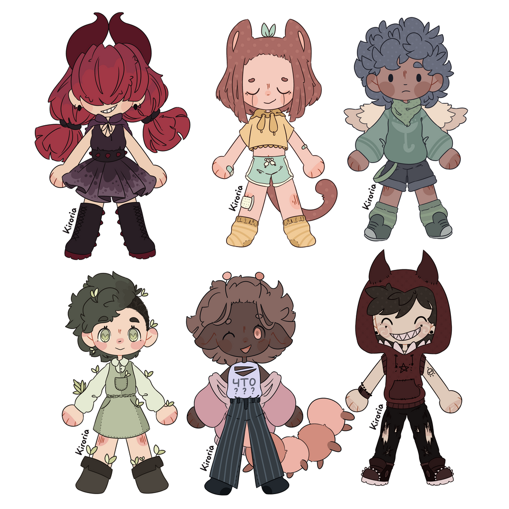Humanoid adopts - prices lowered [1/6 OPEN]