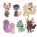 Creature adopts - prices lowered! [1/6 OPEN] by Kiroria