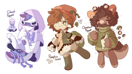 Spoopy fall friends [CLOSED GYO ADOPTS]