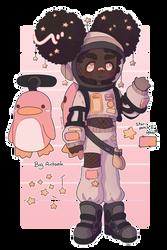 Space Penguin [OPEN ADOPT]