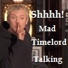 Mad TimeLord Talking Icon by LadyLunaTheLunatic