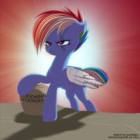 COLL] I get ILL on a cookie with my goddamn hooves by styroponyworks