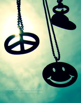 Peace . Love . Happiness
