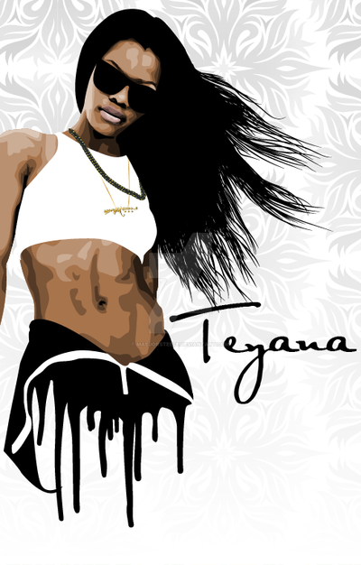 Teyana Taylor by maejorsteeze