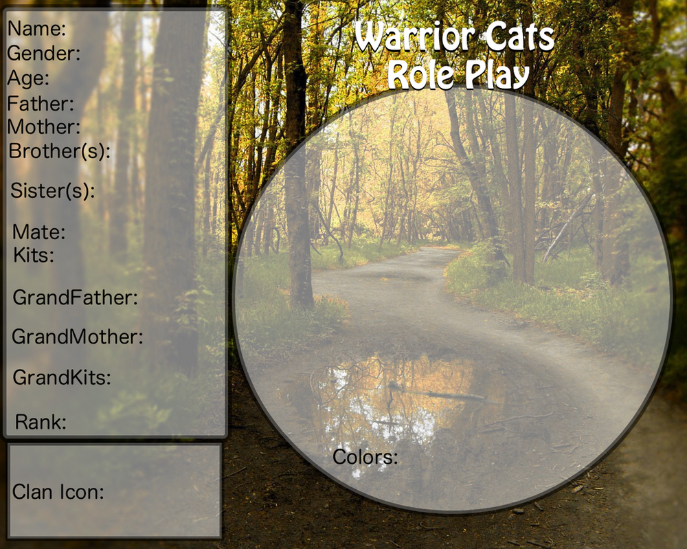 Warrior Cat Roleplay Chats