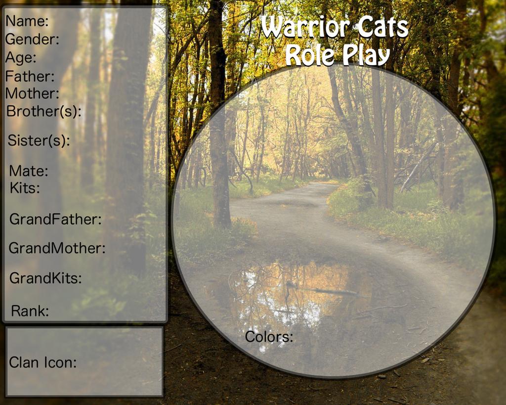 Warrior Cat Roleplay Names