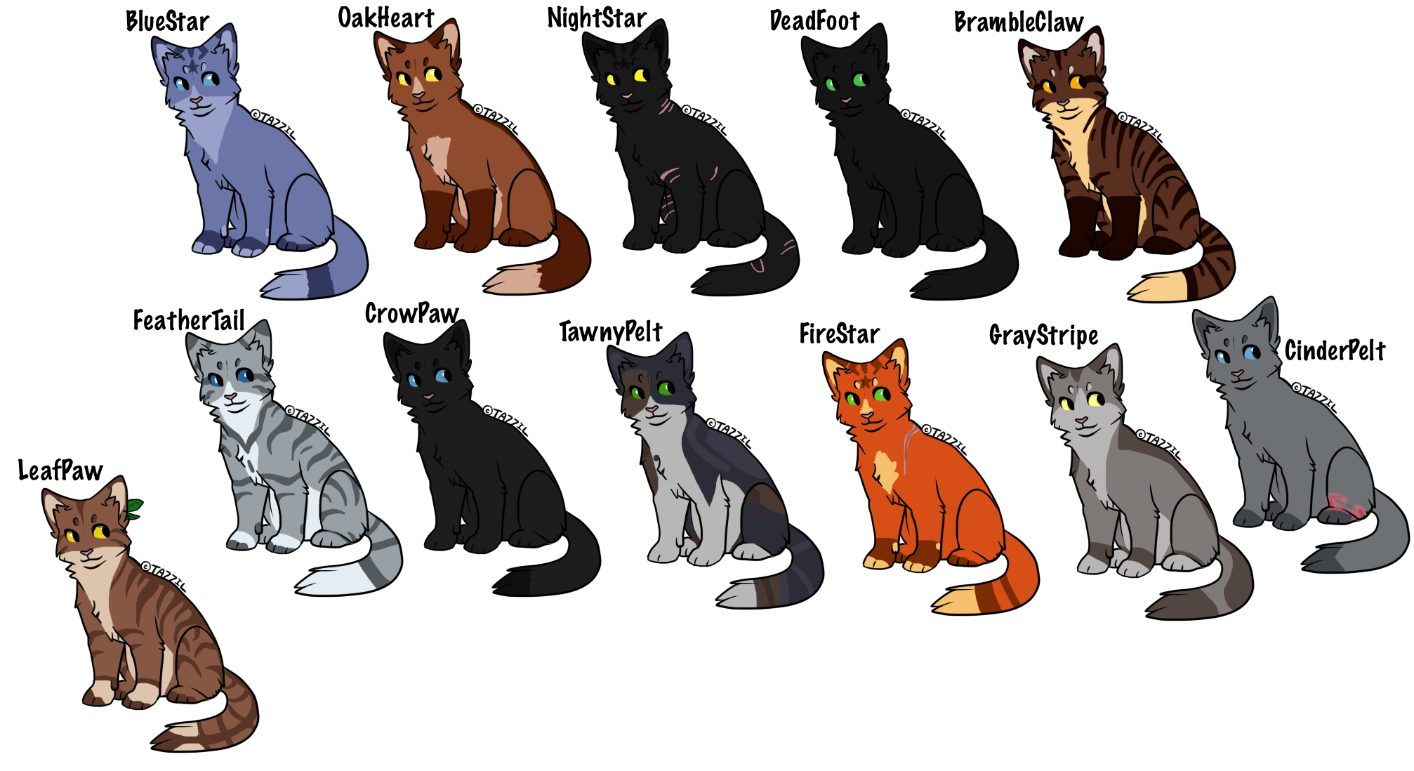 Warrior Cats Family Tree Maker