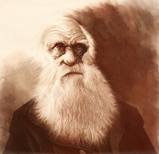 Charles Darwin by pxmolina