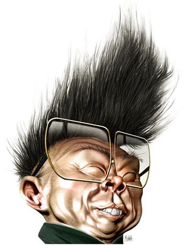 Kim Jong-il by pxmolina