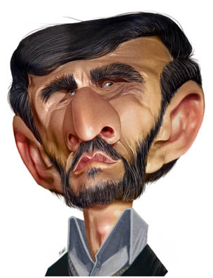 Ahmadinejad 2. by pxmolina