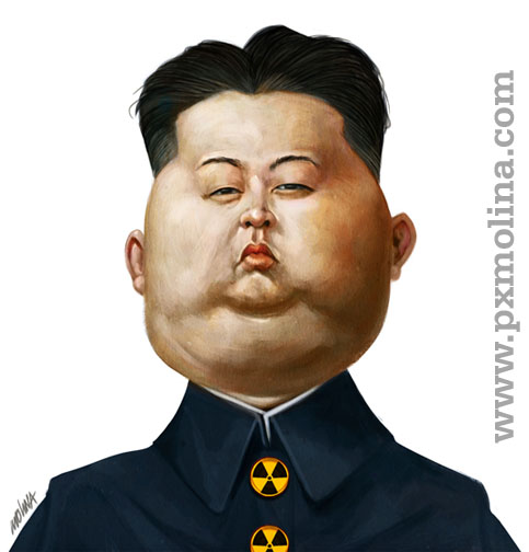 Kim Jong Un by pxmolina