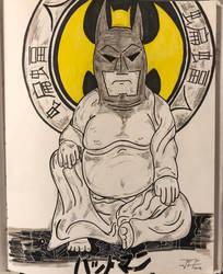 The great Bat Buddha (Mucky Chris) by RIXJoshua