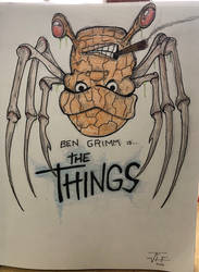 Ben Grimm The Thing by RIXJoshua