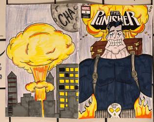 Big Shot (the Tick) comic sketch cover by RIXJoshua