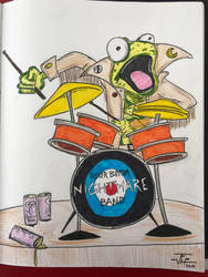 Fred Lizard from Riverbottom Nightmare Band  by RIXJoshua