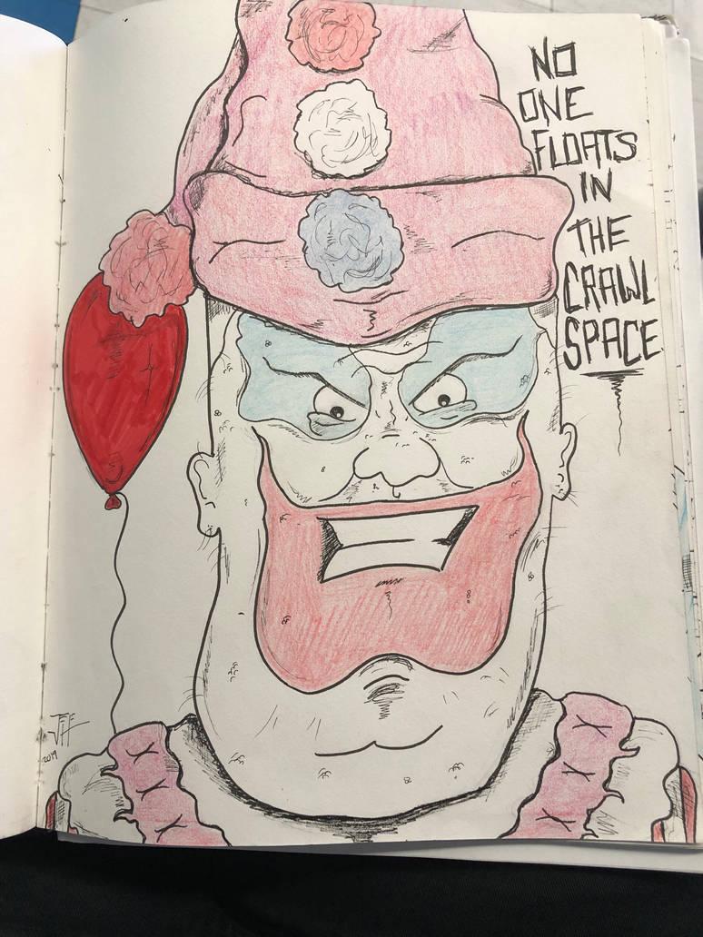 John Wayne Gacy as Pogo the Clown by RIXJoshua on DeviantArt