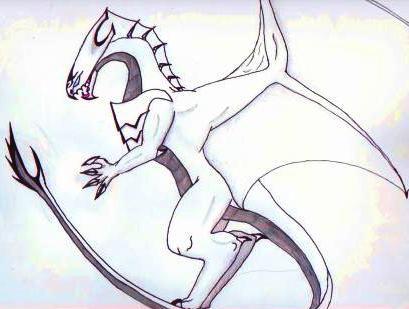 Blue eyes OMG dragon-body by SCARSthecat
