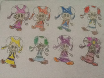 Toadette smash bros alts + moveset by Happycat001
