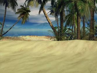 Beach Scene by Looneytaz82