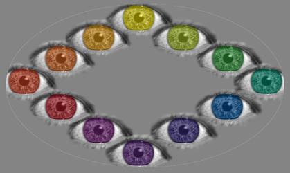 M'eye' Color Wheel by Looneytaz82