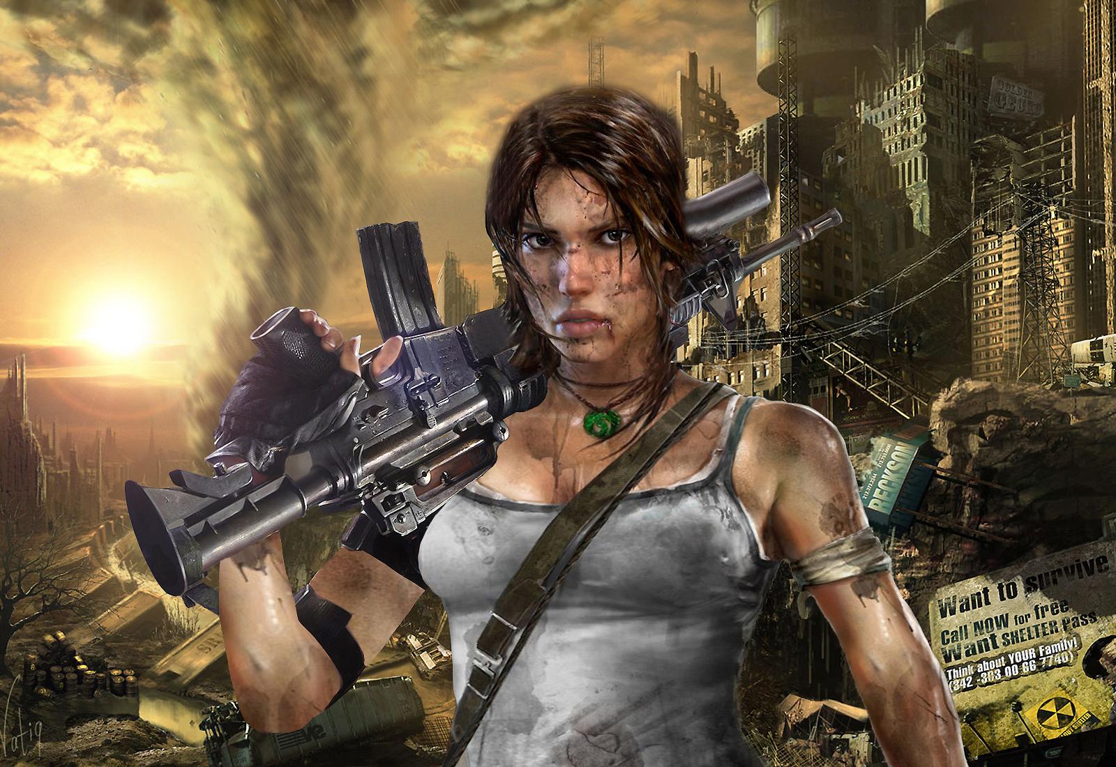 Lara Croft in the City