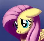Cute Fluttershy Painting