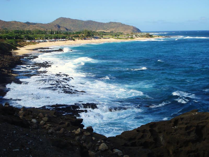 Hawaiian Seashore by iluvhorsez-25